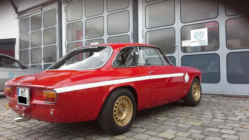 Alfa GTA Oldtimer Werkstatt München Oberhaching
