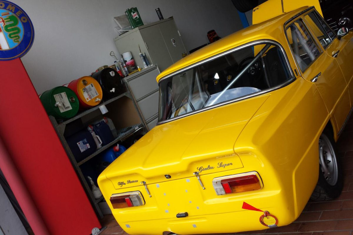 Oldtimer KFZ Werkstatt München - Alfa Romeo Julia Super