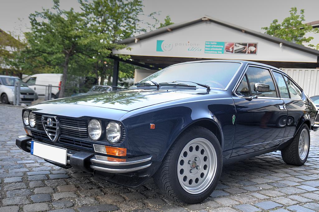 Oldtimer KFZ Werkstatt München - Oldtimer Alfa Romeo GTV
