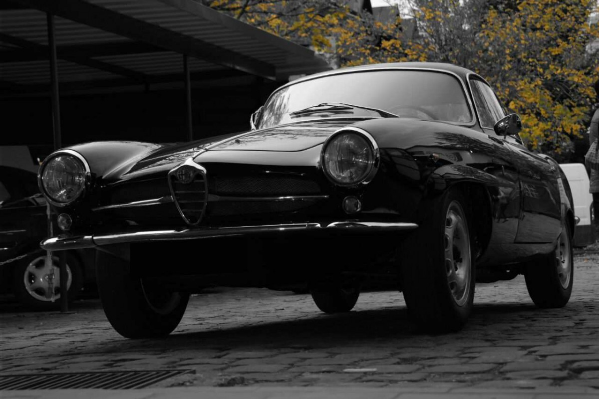 Oldtimer Giulietta Super Sprint