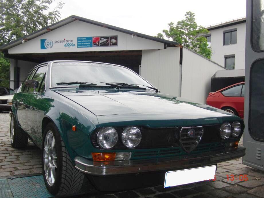Oldtimer KFZ Werkstatt München - Passione Alfa