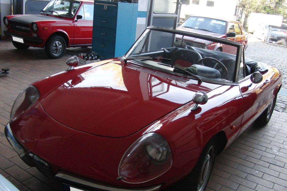 Oldtimer Cabrio Alfa Spider