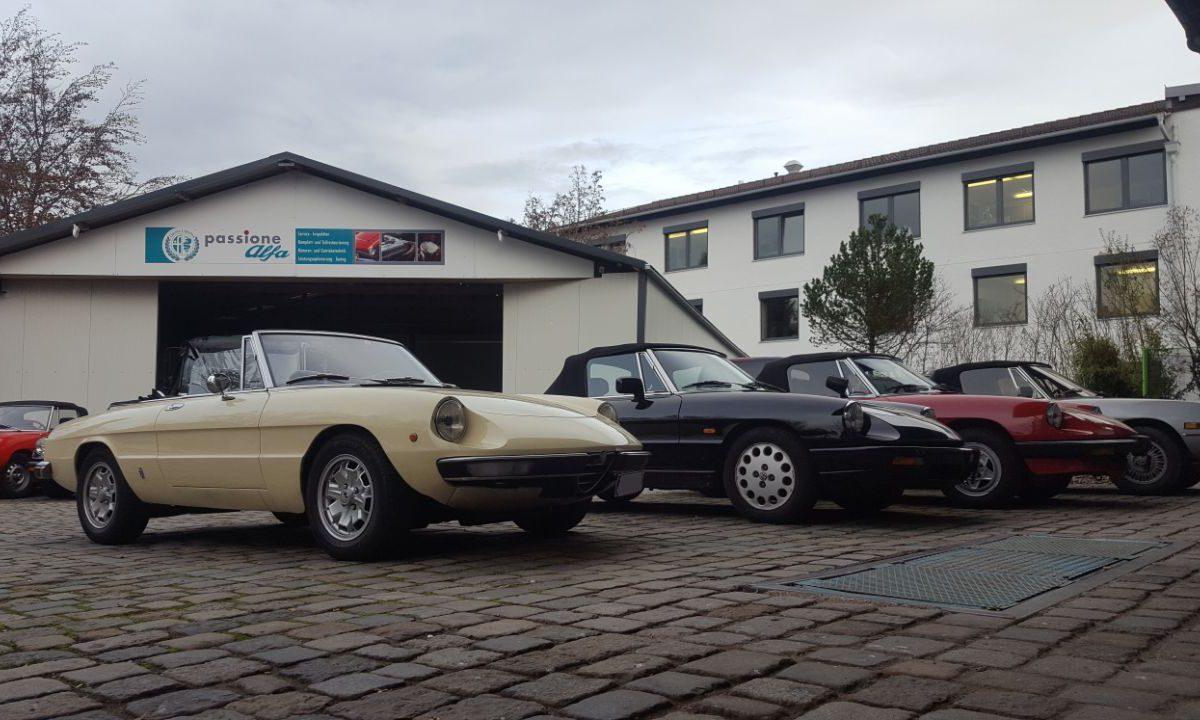 Oldtimer KFZ Werkstatt München - Alfa Romeo