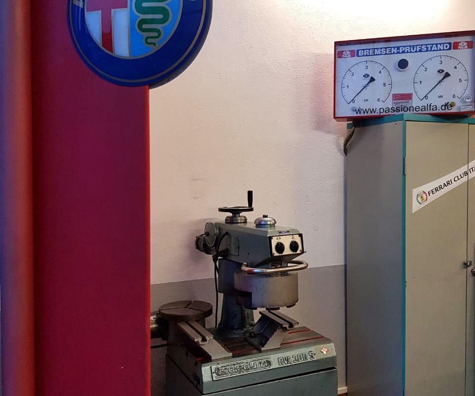 Zylinderkopf-Panschleifmaschine